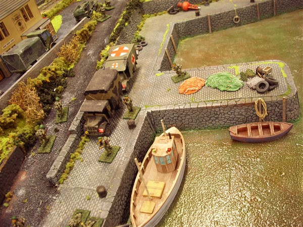 1:76  ROUGH STONE HARBOUR WALL