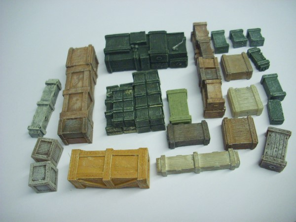 1:76 MIXED GOODS ASSORTMENT 21 pieces