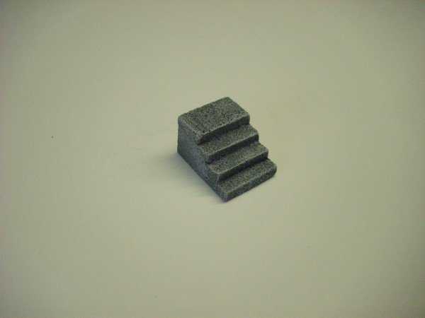 1:76  CONCRETE SEA WALL STEPS