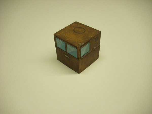 1:76  STEEL WHEELHOUSE