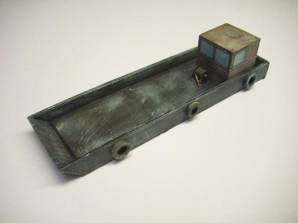 1:76  FLAT BOTTOMED WORKS BOAT