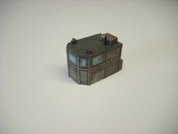 1:76  MEDIUM WOODEN WHEELHOUSE