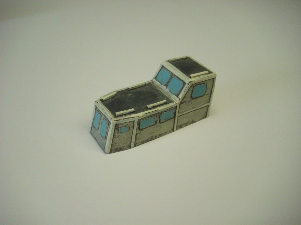 1:76  CABIN CRUISER WHEELHOUSE