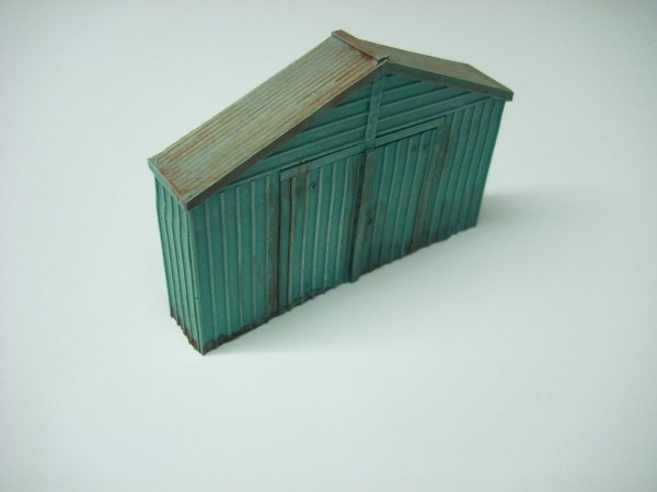 1:76  METAL CLAD WORKSHOP GABLE END