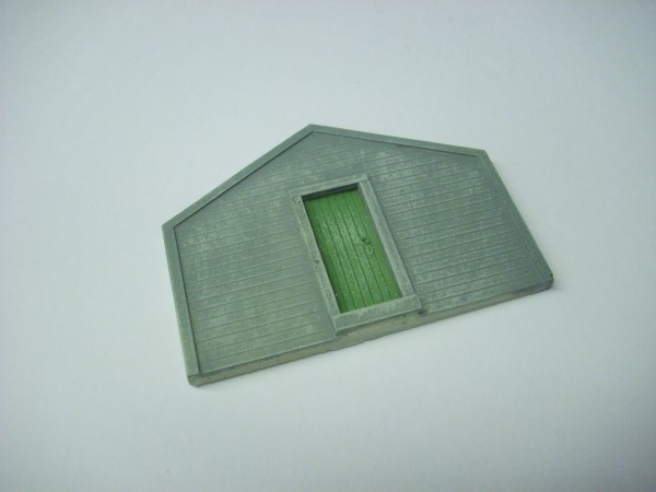 1:76  WOODEN WORKSHOP GABLE END