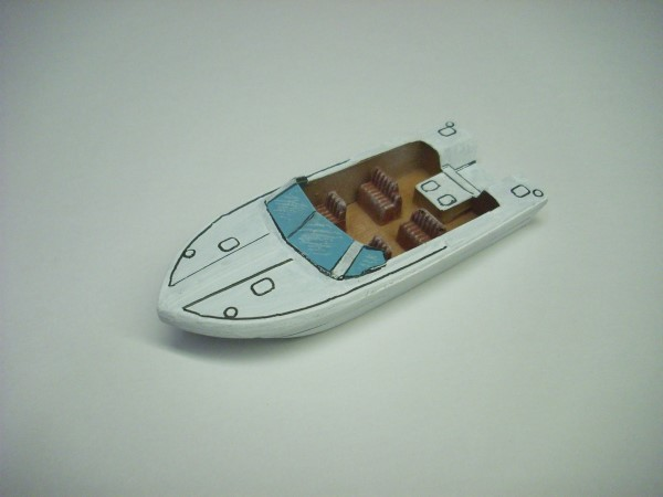 1:72 LARGE SPEED BOAT