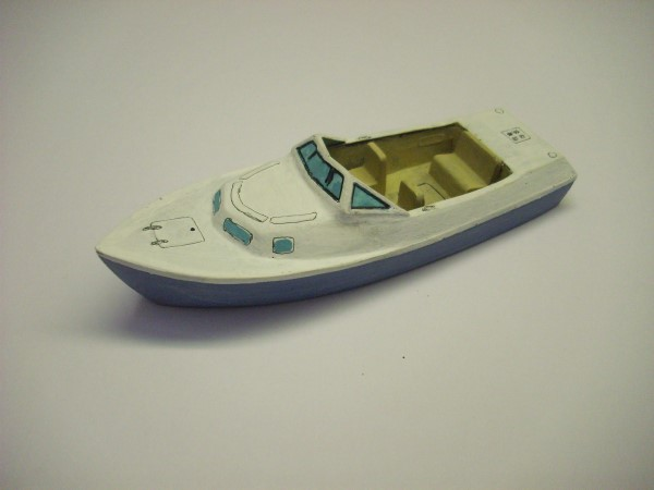 1:72 LARGE LUXURY SPEED BOAT