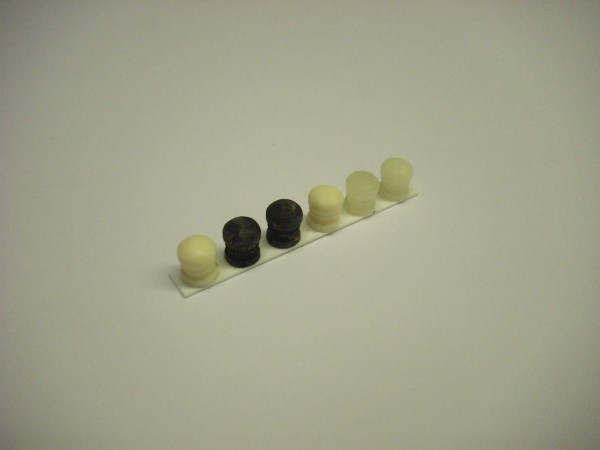 1:76  QUAY SIDE  BOLLARDS  (pack of 6)