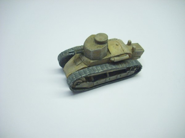 FIAT 3000 TANK WITH TWIN 6.5mm TURRET