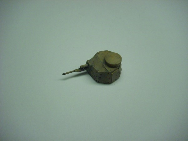 37 MM GUN TURRET FOR FIAT 3000