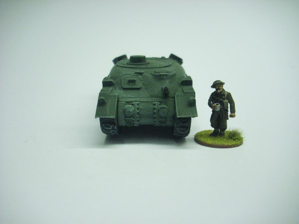 RAM BADGER FLAMETHROWER TANK