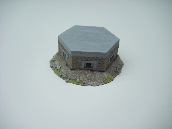 1:56  BRITISH PILL BOX. BRICK FACED + EARTH
