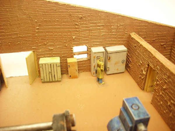 1:76  CUPBOARDS, CABINETS AND LOCKERS x 5