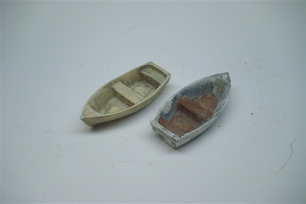 1:76  SMALL DINGHY X 2