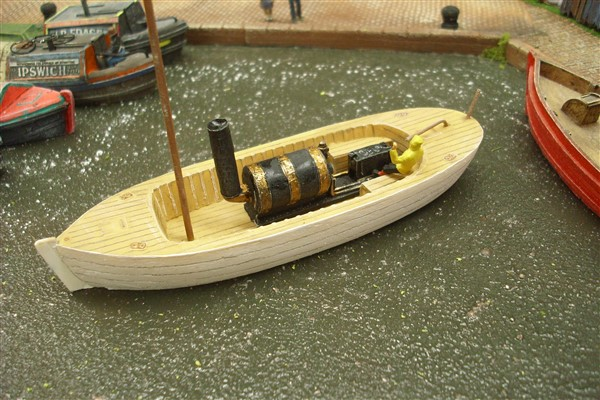 1:76  VICTORIAN STEAM LAUNCH