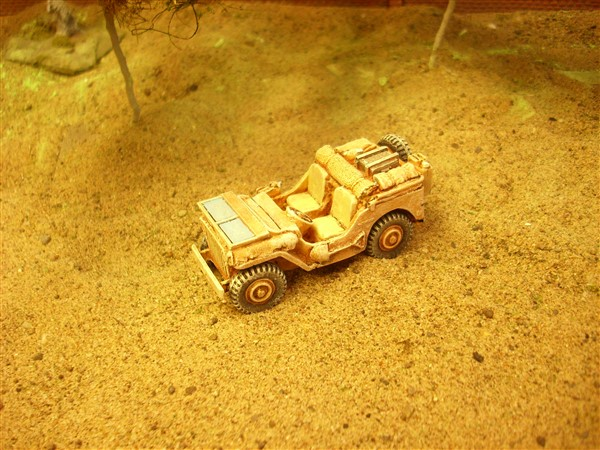 WILLYS JEEP + STOWAGE