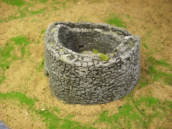 SCOTTISH BROCH. HISTORICAL SITE