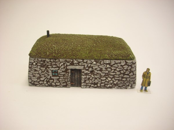 1:76  SCOTTISH BLACK HOUSE
