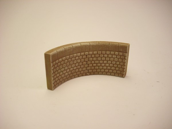 1:76  QUAY SIDE WALL INNER CURVE