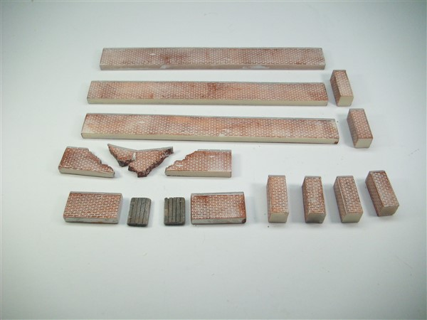 1:76  BRICK WALL PACK