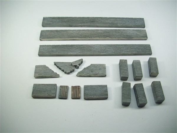 1:76  STONE WALL PACK 16pc