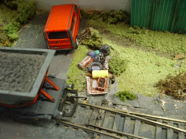1:76  FLY TIPPING MESS