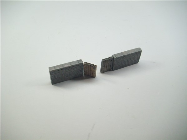1:76  STONE WALL + DOUBLE GATE