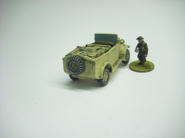 HUMBER HEAVY UTILITY CUT DOWN. DESERT CONVERSION