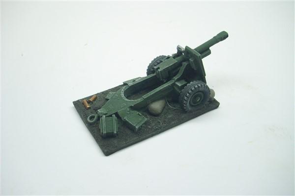 WRECKED 25pdr FIELD GUN