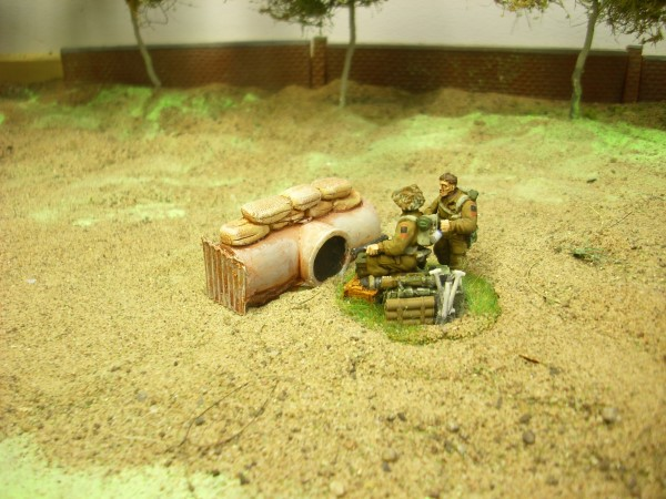 1:56  PIPE AND SANDBAG BARRICADE