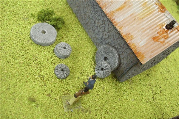 1:76 OLD MILL STONES pack of 6