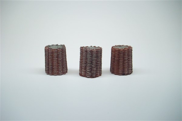 1:56 LARGE WICKER GABIONS pack of 3
