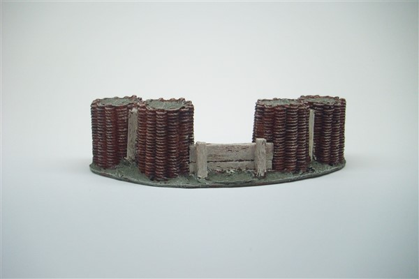 1:56 LARGE WICKER GABION ARTILLERY SCREEN