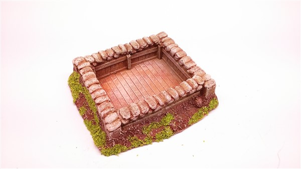 1:72  SANDBAGGED WEAPONS PIT