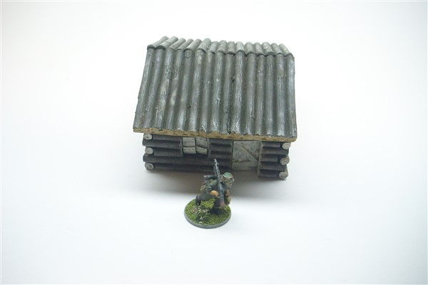 EASTERN FRONT LOG CABIN