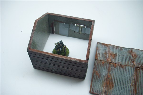1:56  CUT TIMBER LOG CABIN with tin roof