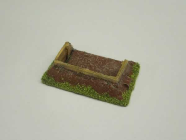 1:100  EARTH & TIMBER INFANTRY BERM