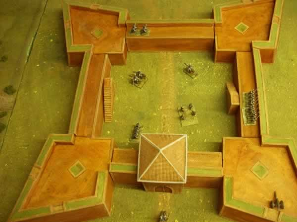 VAUBAN 4 POINT STAR FORT.