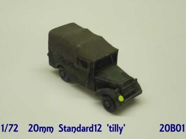 1:72  STANDARD 12 UTILITY CAR