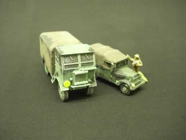 ALBION FT11 SUPPLY TRUCK