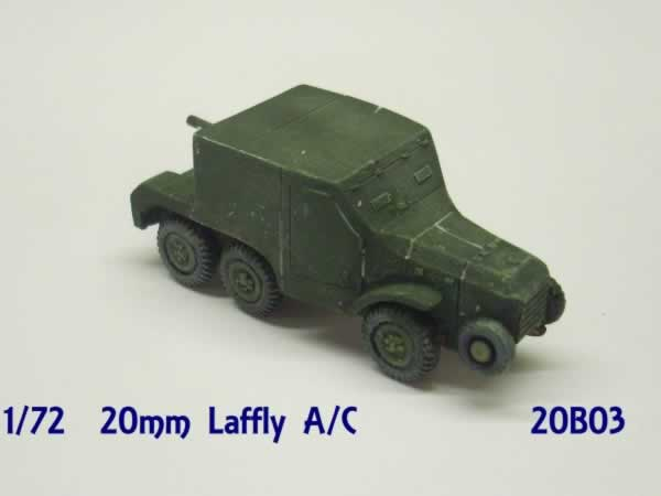 1:72  LAFFLY W15 FRENCH ARMOURED CAR
