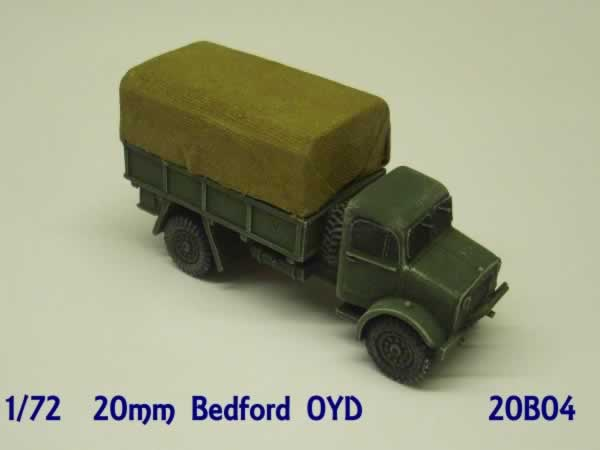 1:72  BEDFORD OYD STEEL BODY