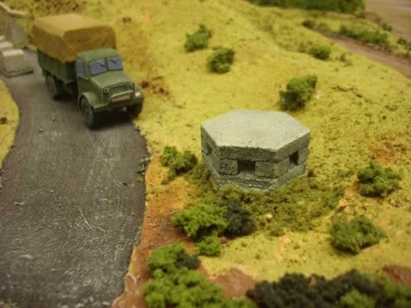 1:76 CONCRETE PILL BOX