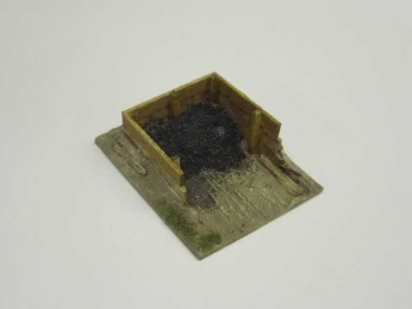 1:72 WOODEN COAL STAITHES