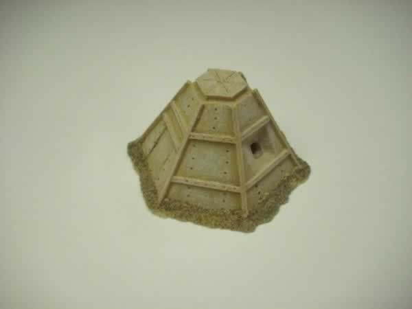 1:72 WW2 JAPANESE STEEL PILL BOX