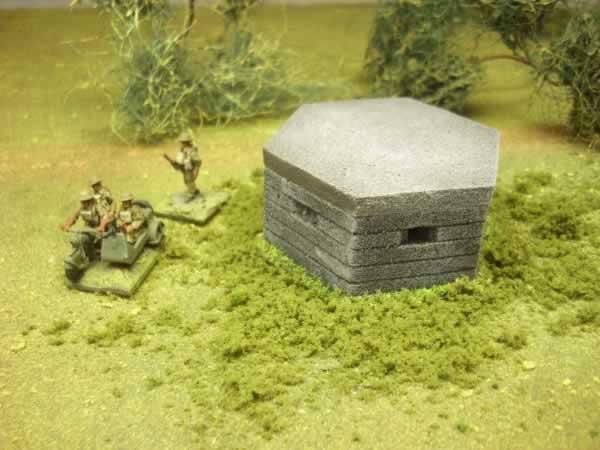 1:72 WW2 TYPE 22 PILL BOX