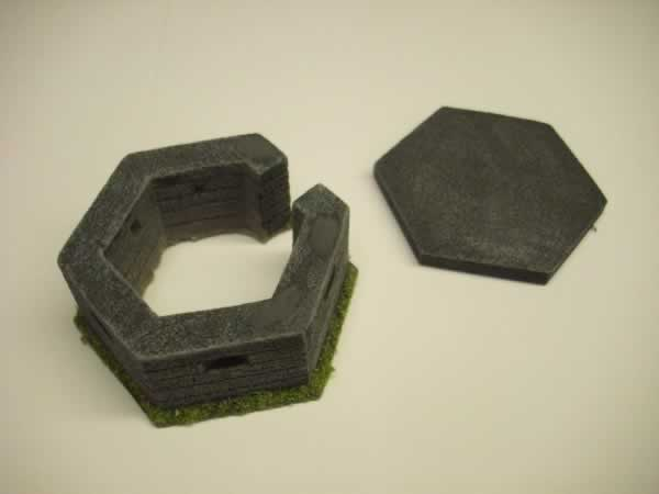 1:72 WW2 TYPE 22 PILL BOX