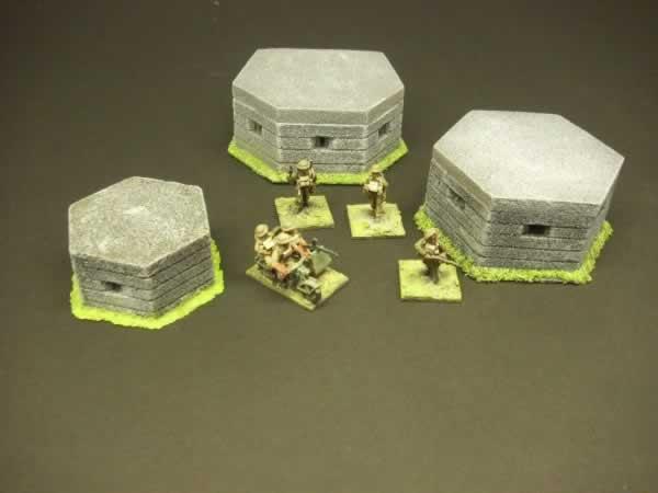 1:72 PILL BOX PACK WW2 BRIT