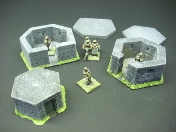 PILL BOX PACK WW2 BRIT