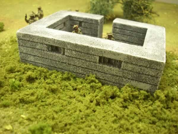 TWIN VICKERS PILL BOX